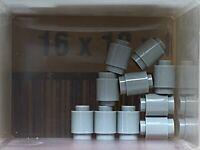 10 NEW LEGO Brick Light Bluish Gray Round 1 x 1 d 90 Degree Elbow No Stud