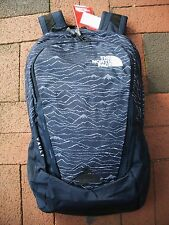 THE NORTH FACE VAULT BACKPACK -DAYPACK- LAPTOP SLEEVE-#CHJ0- URBAN NAVY PRINT