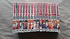 Rurouni Kenshin Manga Lot Volume 1-16 English Shonen Jump Nobuhiro Watsuki Used