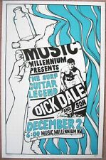 DICK DALE Numbered 2006 Gig POSTER In-Store Portland Oregon Concert