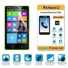 3x PELLICOLA per Nokia Lumia X2 FRONTE + PANNO PROTETTIVA DISPLAY