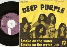 DEEP PURPLE SMOKE ON THE WATER STUDIO & LIVE DANISH 45+PS 1972 PSYCH HEAVY ROCK