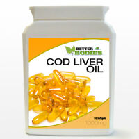COD LIVER OIL SUPERSTRENGTH 1000MG HIGH STRENGTH 50 CAPSULES SOFT GELS BOTTLE