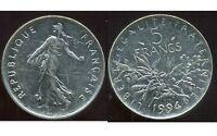 5 francs 1994   semeuse   ( dauphin )