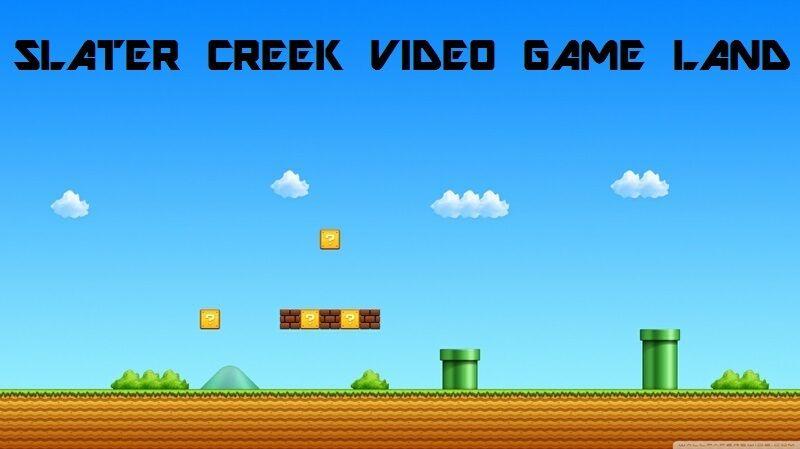 Slater Creek Video game land