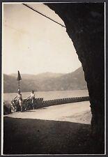 YZ0261 Lago di Lugano - Veduta da Galleria - Fotografia - 1939 vintage photo