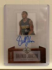 2012-13 Limited #223 Orlando Johnson RC AUTO #110/399
