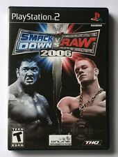 PS2 Playstation 2 - WWE Smackdown vs Raw 2006 - Complete - tested, working