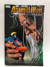 ANIMAL MAN Meaning of Flesh Vol 5 TPB Graphic Novel (2013 Vertigo Softcover) NEW