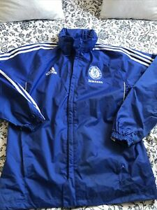 Mens Chelsea Football Training Jacket - Mens Coat, Waterproof, Size Medium 2011