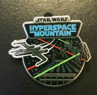 disney trading pin hyperspace mountain space star wars attractions ride souvenir