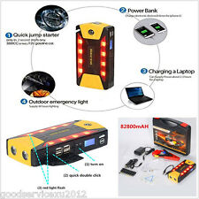 82800mAh High Power Autos Jump Starter Emergency Charger Power Bank Battery SOS