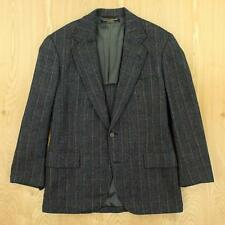 BROOKS BROTHERS tweed blazer jacket size 38 gray herringbone weird cuffs