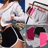 New Summer Pants Women Sports Shorts Gym Workout Waistband Skinny Yoga Short Hot