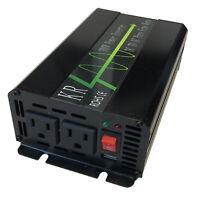 300W Pure Sine Wave Car Power Inverter Peak Power 600W 12V DC to 120V AC 60HZ