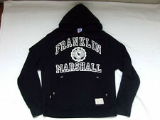* Franklin & Marshall Capuche Hoodie * Noir * old school * Gr: L * comme neuf