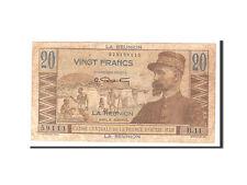 Billets, Réunion, 20 Francs, 1947, KM:43a, Undated, TB #113573