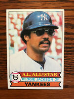 1979 Topps #700 Reggie Jackson Baseball Card New York NY Yankees HOF Raw