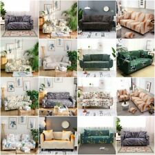 1/2/3 Seater Stretch Chair Sofa Covers Couch Cover Elastic Slipcovers Protector