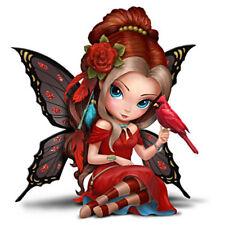 Jasmine Becket-Griffith JBG Fairy CAPTIVATING CARDINAL Figurine NEW