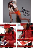 JOANNA JEDRZEJCZYK signed Autographed 8X10 PHOTO g PROOF Hot SEXY UFC Champ COA