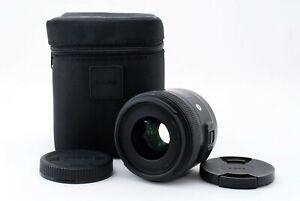 SIGMA Art 30mm F1.4 DC HSM Lens for Canon EF-S Mount APSC sensor A805581