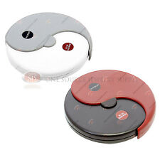 Round Pocket Magnifier Dial Magnification 5x 12x Revolving Magnifying Glass Lens