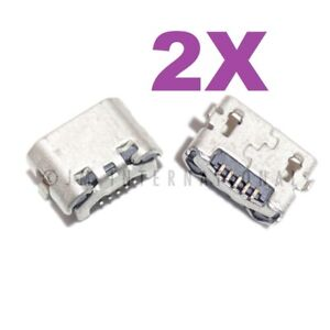 2X Huawei SnapTo G620-A2 Micro USB Charger Charging Port Dock Connector USA