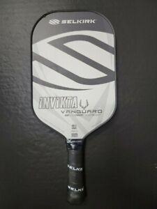 Selkirk Vanguard Hybrid Invikta Lightweight Pickleball Paddle Black Frost