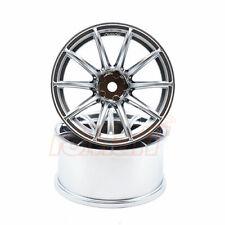 Overdose RAYS Gram Lights 57 Transcend OFFSET 5 1/10 Drift Wheels Chrome #OD2379