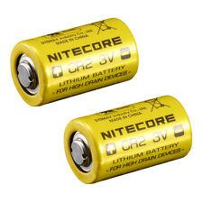 Nitecore CR2 750mAh 3V Lithium Battery High Performance Photo/Camera Single-Use