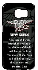 Navy Seals Seal USN Prayer Psalm Army Case Cover For Samsung Galaxy S6 S7 Edge