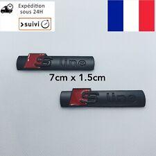 2 Logo S LINE Emblème SLINE En Noir Mate Pour VoitureAudi