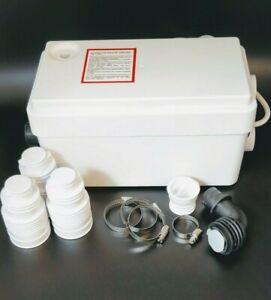 Sanishower alternative quality Grey Water pump Shower/Basin 2 inlets