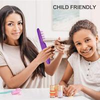 Electric Detangling Hair Beard Brush Straightener Styling Heated Hair Comb US