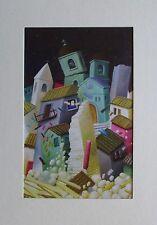 Fernando Botero ERDBEBEN im Passepartout Reproduktion Kunstdruck Kolumbien