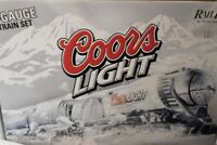 ✅MTH RAILKING COORS LIGHT SILVER BULLET BEER OPERATING TRAIN CAR SET FIT LIONEL
