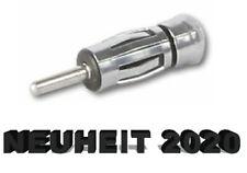Antennenadapter Autoradio Auto Radio KFZ Adapter Stecker Buchse ISO DIN * Neu *