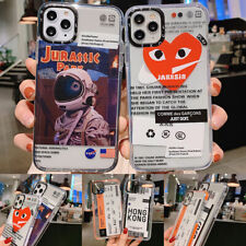 NASA Cute Clear Ticket Love Soft Phone Case Cover For iPhone11ProMax 7 8Plus XR