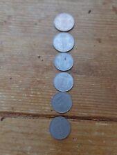 Lot  5 pièces belges