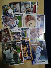 Justin Verlander Detroit Tigers 18 Card Lot
