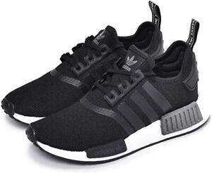 adidas NMD R1 J Kinder Sneaker Freizeit Schuhe EE8463 schwarz