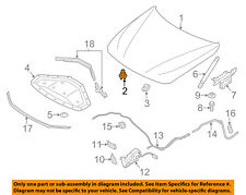 BMW OEM 11-18 X3-Hood Adjuster 51767183752