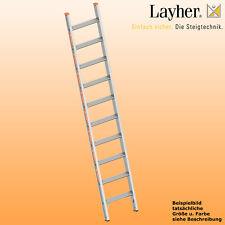 Layher Alu Stufenanlegeleiter,  Leiter 10 Stufen,  L=2,55m,Topic Typ 1042.010
