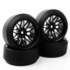 4pcs PP Drift  Tires&Wheel Rims BBNK 12mm Hex For HSP 1:10 RC On-Road Model Car