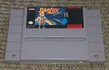 StarFox FX Super Nintendo SNES Game Cartridge Authentic Star Fox Game OEM