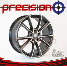 "19"" Set of 4 MAM Silver Palladium Polish Alloys Mercedes S-Class 1998-2005"