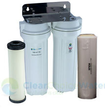 Twin U/Sink Doulton Ultra Carb & Fluoride Removal Filter - UK and USA Cartridges