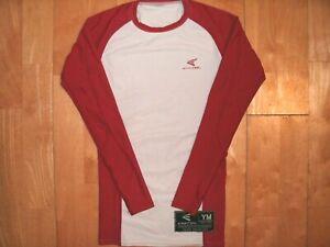 EASTON Youth Kids BASEBALL Medium M MD COMPRESSION Long Sleeve Base Layer Shirt