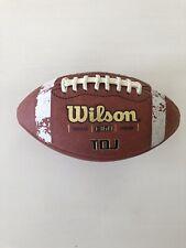 Wilson Tdj 1360 Junior Game Football Brown Leather